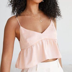 NWT Wilfred Lover Camisole in ROSE SMOKE Size S